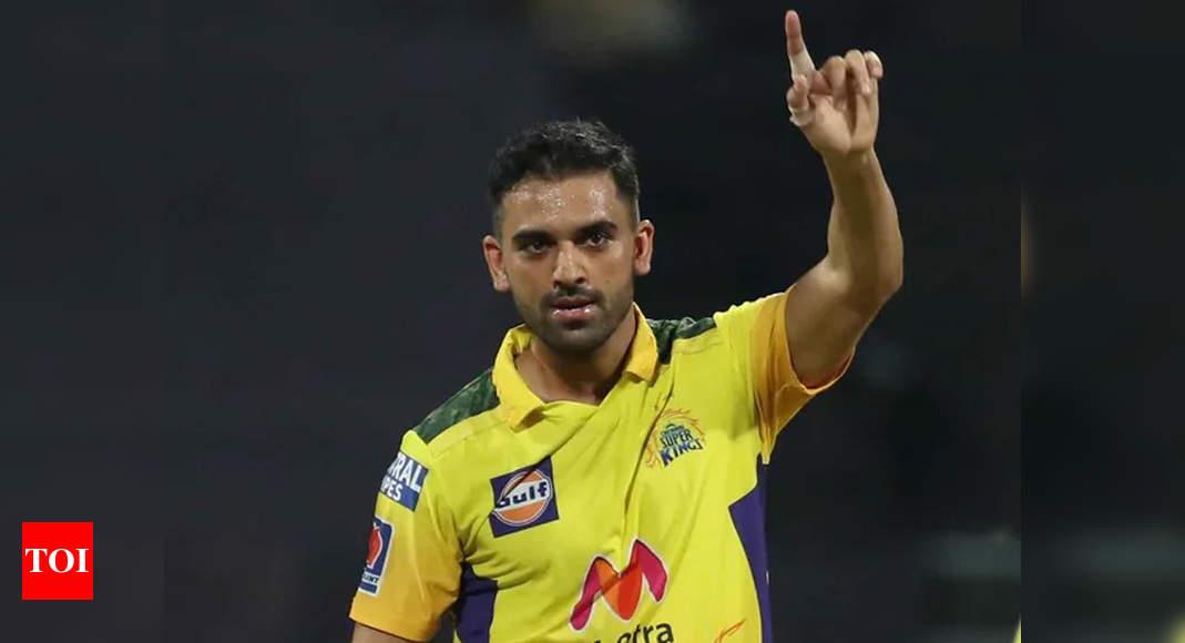 IPL 2021: Ravi Shastri hails Deepak Chahar's 'super variations' against Punjab Kings | Cricket News – Times of India