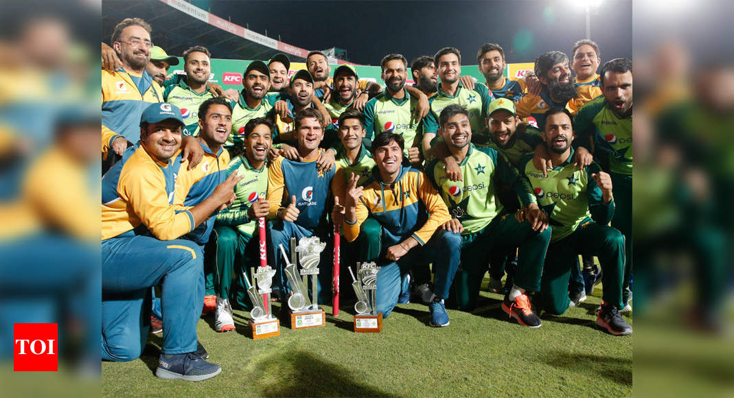 Fakhar flays South Africa as Pakistan seal T20 series with nervy win | Cricket News – Times of India