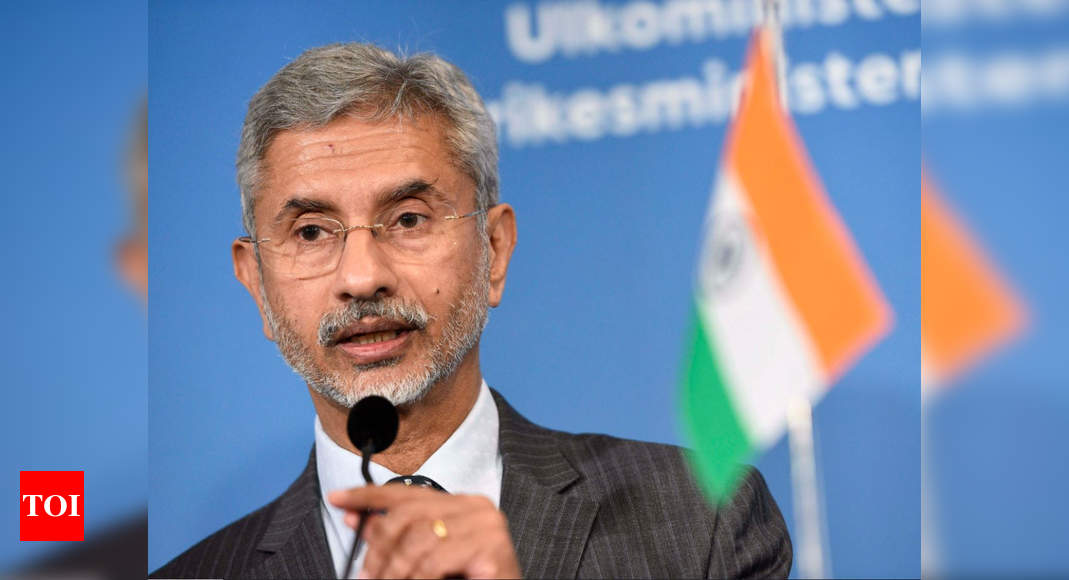 Afghanistan's future shouldn't be a return to past: S Jaishankar