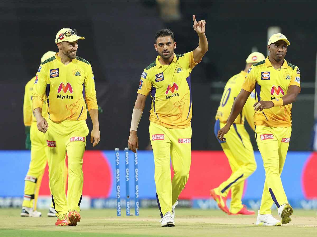 IPL 2021, CSK vs PBKS: Deepak Chahar's strikes ensure Chennai Super Kings' easy victory over Punjab Kings | Cricket News - Times of India