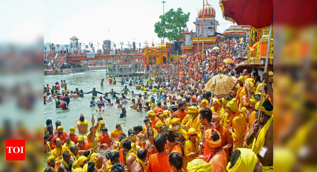 PM Modi:   Kumbh Mela should now only be symbolic: PM Modi appeals Swami Avdheshanand | India News – Times of India