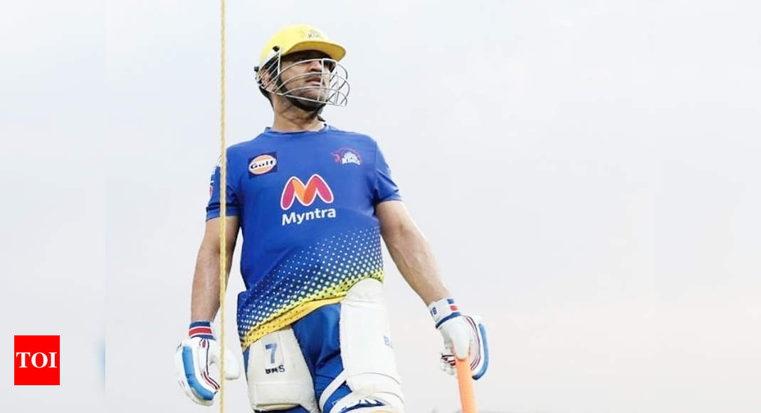 ms dhoni:  IPL 2021: MS Dhoni is the heartbeat of Chennai Super Kings, says coach Stephen Fleming | Cricket News – Times of India
