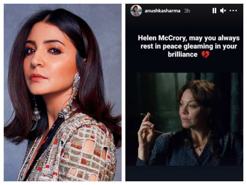 Anushka Sharma remembers Helen McCrory: May You always rest in peace gleaming in your brilliance