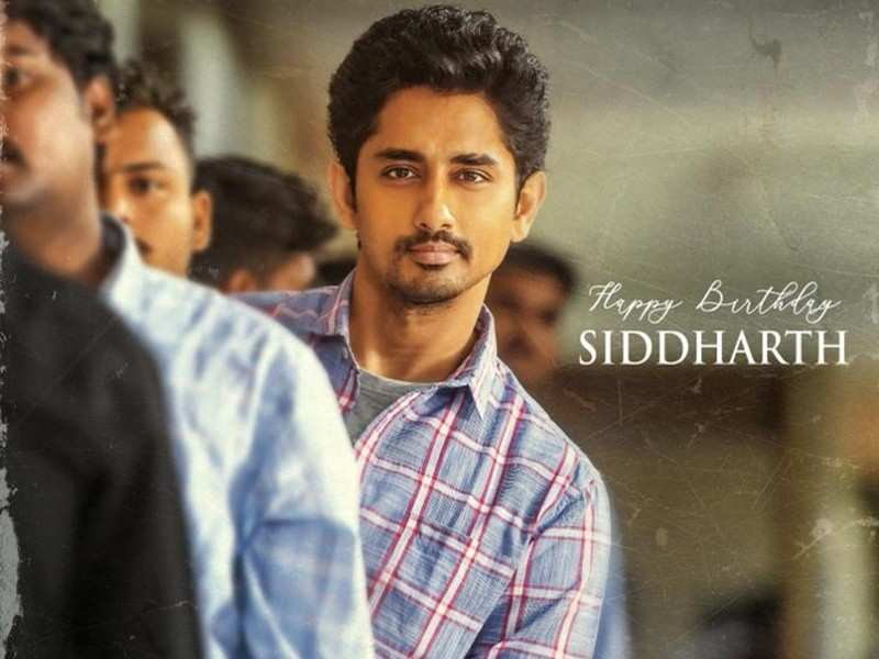 Siddharth's first-look from Maha Samudram released on his birthday
