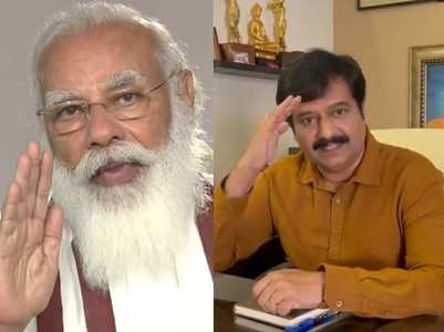 PM Modi mourns the loss of actor Vivek