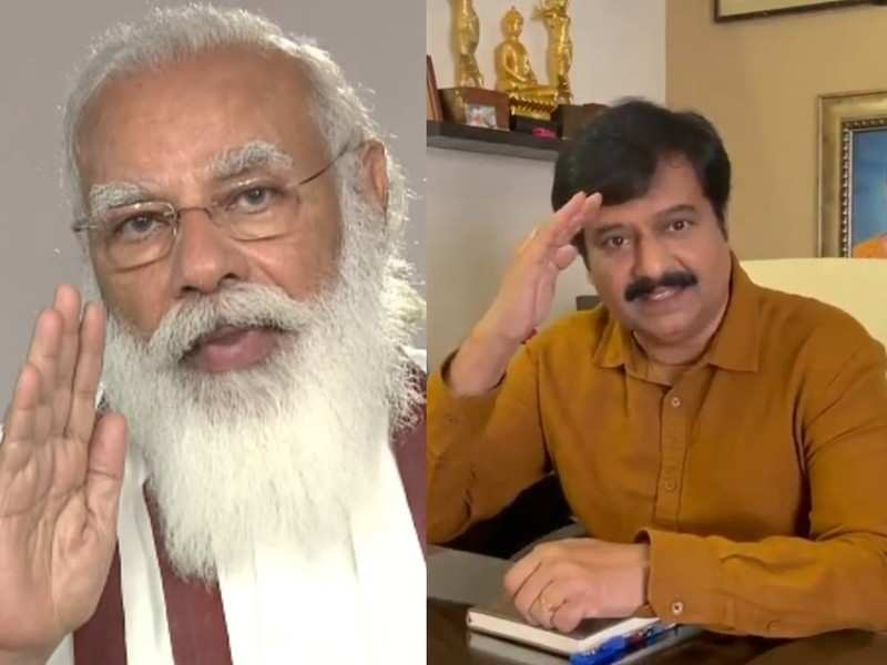 Prime Minister Narendra Modi mourns the loss of actor Vivek: His comic timing and intelligent dialogues entertained people