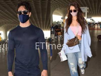 Tiger-Disha take off on a vacation