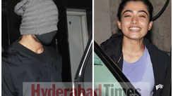 Vijay Deverakonda & Rashmika Mandanna hilariously avoid getting clicked after their gym sesh