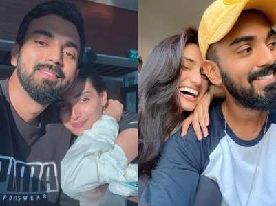 Athiya Shetty-KL Rahul's heartwarming moments
