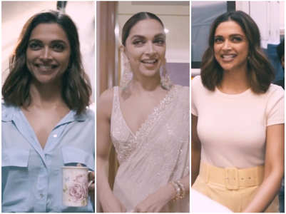 Deepika posts a glimpse of a BTS video for fans
