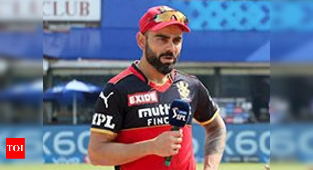 IPL 2021: Maxwell and de Villiers' knocks made the difference, says Kohli | Cricket News – Times of India