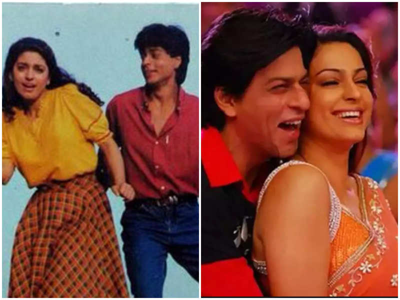 Juhi Chawla recollects not being impressed by Shah Rukh Khan's looks when she first saw him on the sets of 'Raju Ban Gaya Gentleman'