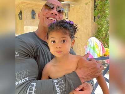 Dwayne Johnson pens a bday note for daughter