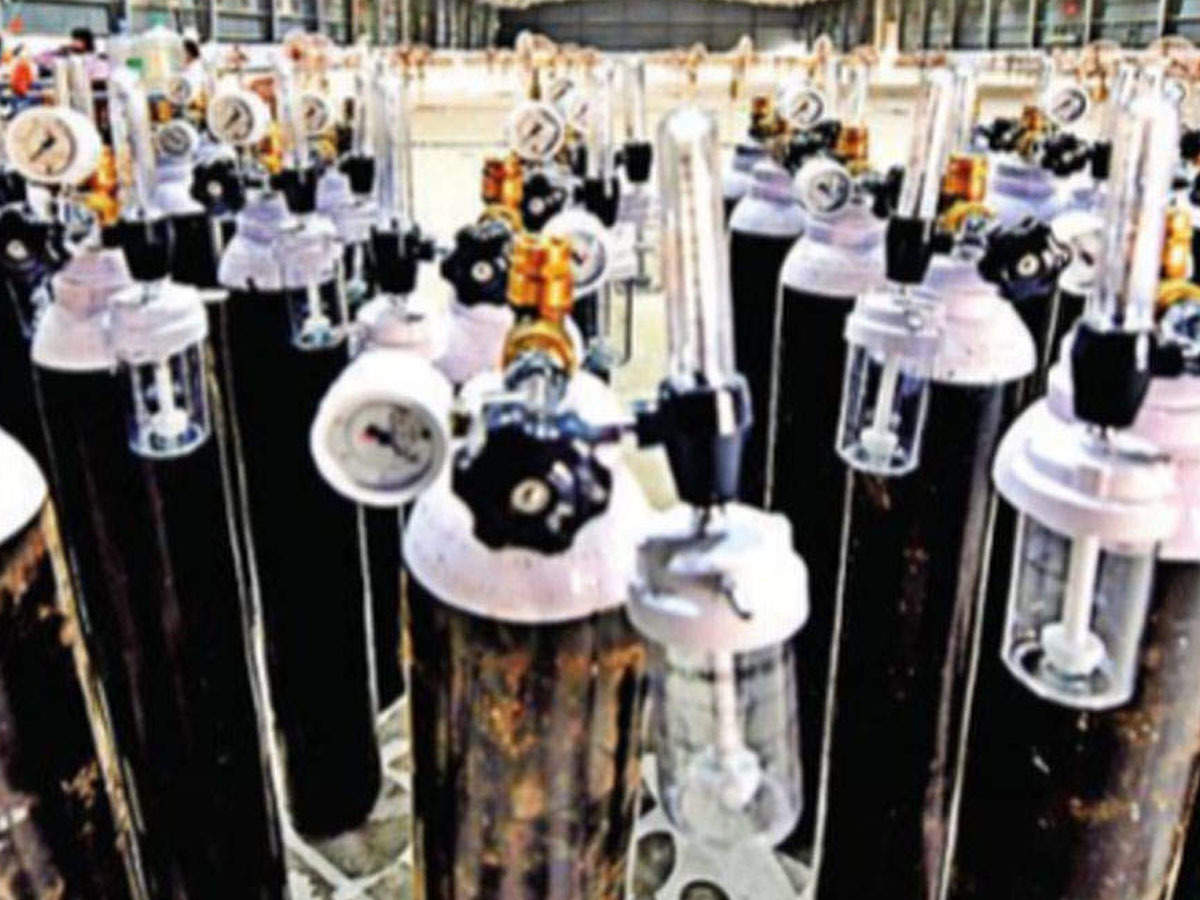 Oxygen cylinder prices go through roof in Telangana | Hyderabad News -  Times of India