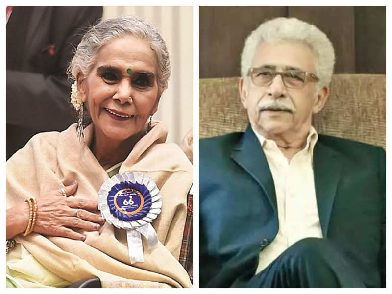 Did you know that veteran actors Surekha Sikri and Naseeruddin Shah are related?