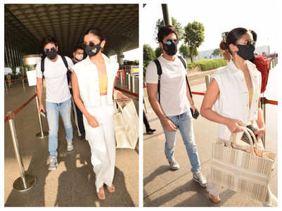 Alia and Ranbir jet off for a beach vacation