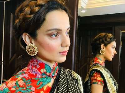 Kangana introduces fans to her new friend