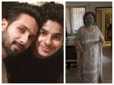 Shahid-Ishaan's fun banter over their mother