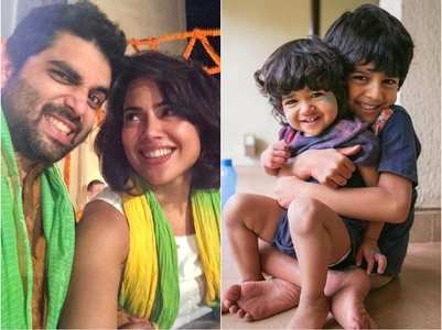 Sameera shares health update of her kids