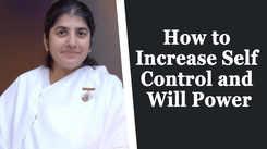 How to Increase Self Control and Will Power