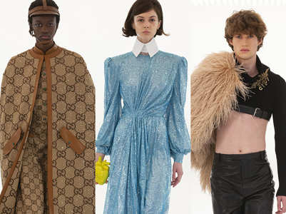 Top 5 fashion trends from Gucci's Aria show