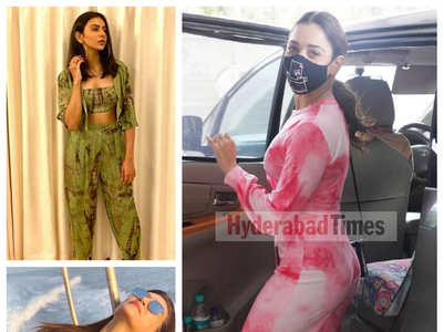 Tollywood divas rock tie-dye like pros
