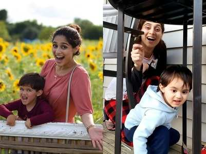 Single mom Somya's happy pics with son