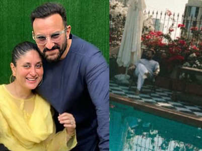 Kareena captures Saif lost in thought