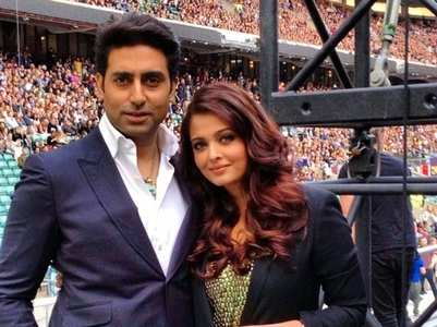 Adorable moments of Aishwarya-Abhishek