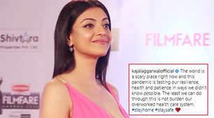 Kajal urges fans 'not to burden overworked healthcare system'