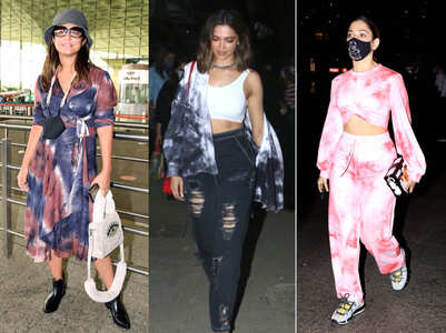 Celebs are still obsessing over the tie-dye trend