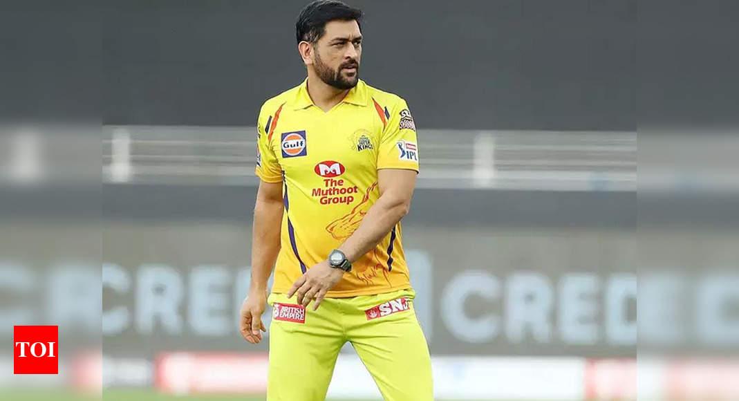 IPL 2021: MS Dhoni plays 200th match as Chennai Super Kings skipper | Cricket News – Times of India