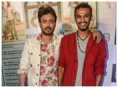 Babil on no longer sharing pics of Irrfan
