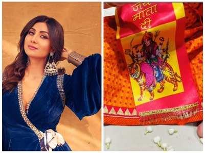 Shilpa wishes fans on Chaitra Navratri Ashtami