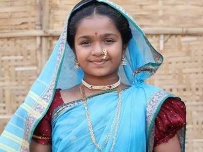 Playing Ahilyabai inspired child star Aditi