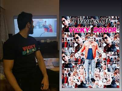 Ayushmann Khurrana on 9 years of Vicky Donor