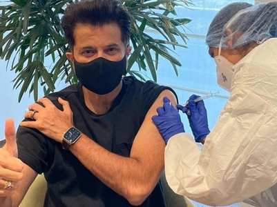 Anil gets second vaccine shot; Harsh reacts