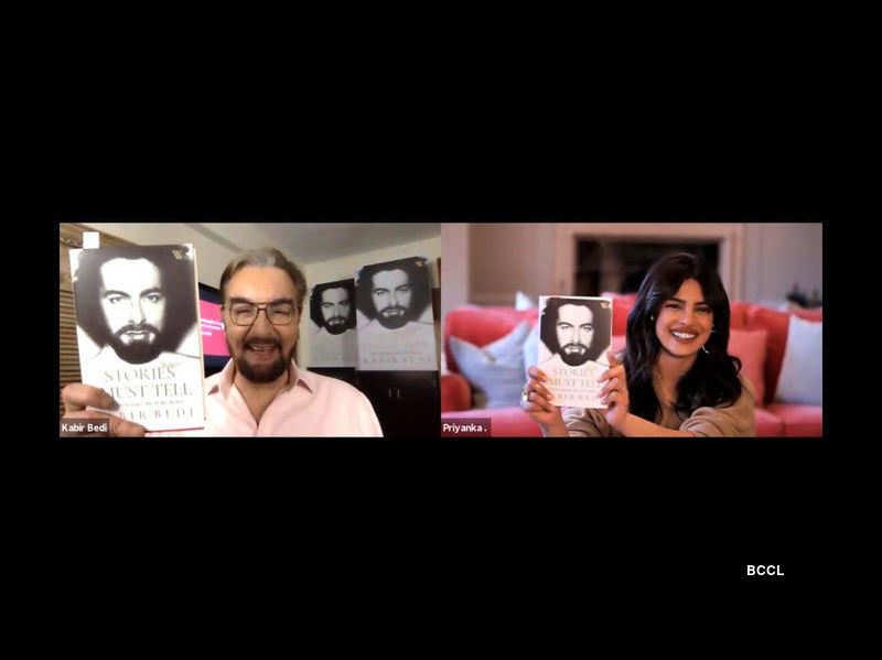 Book launch of Kabir Bedi's 'Stories I Must Tell' with Priyanka Chopra Jonas