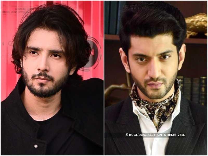 Zaan Khan and Kunal Jaisingh