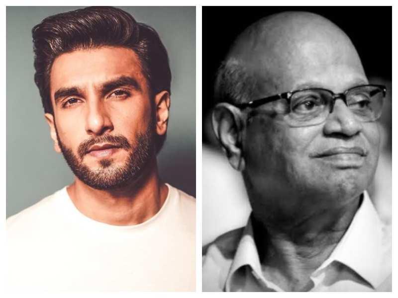 Ranveer Singh mourns the demise of his 'Simmba' co-star Kishore Nandlaskar; shares a post on Instagram
