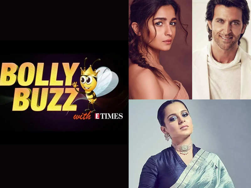 Bolly Buzz: Will Alia Bhatt romance Hrithik Roshan in 'Inshallah'? Kangana Ranaut slams those depressed
