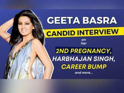 Geeta Basra on her 2nd pregnancy, Harbhajan