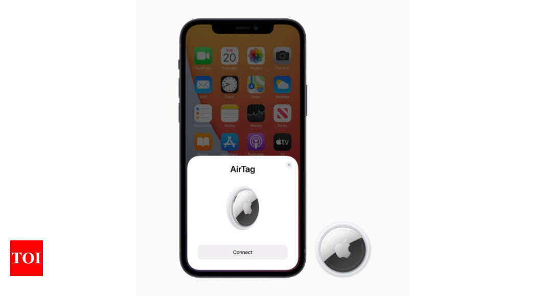 Apple launches AirTag: India price, availability and more – Times of India