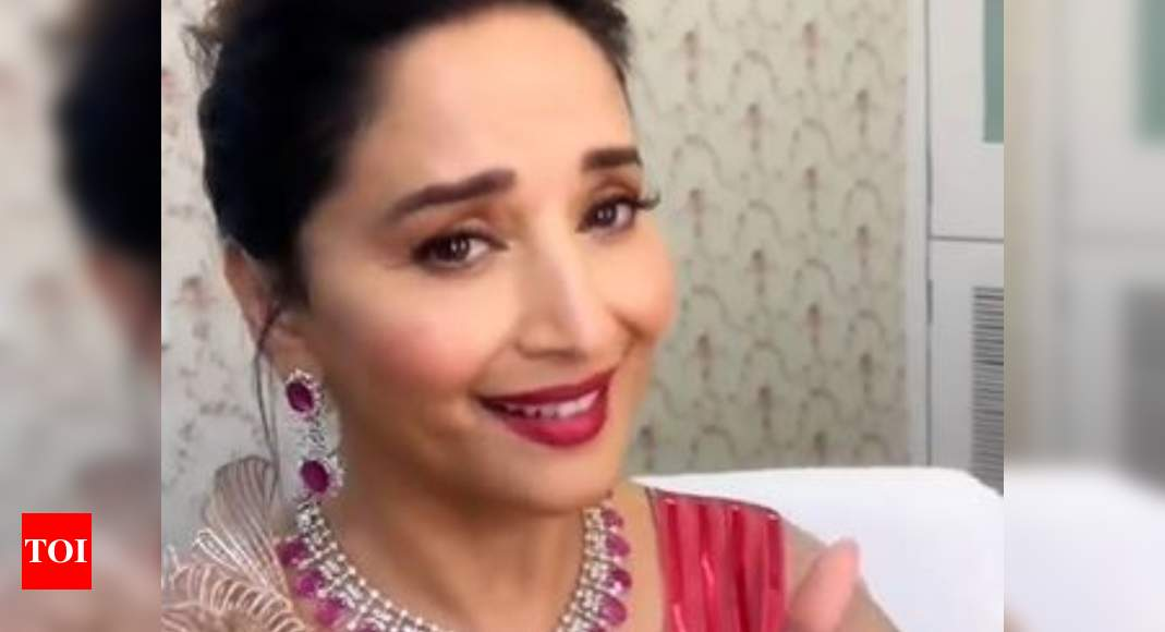 Madhuri follows the 'Bajre Da Sitta' trend