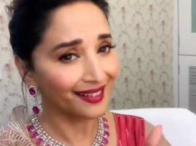 Madhuri follows the 'Bajre Da Sitta' trend