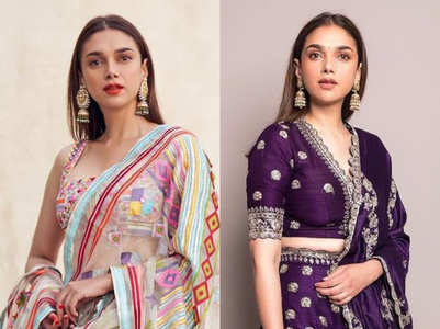 Best lehenga looks of Aditi Rao Hydari for summer brides