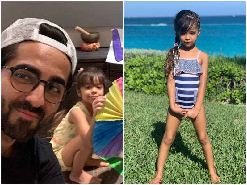 Ayushmann Khurrana has the sweetest birthday wish for daughter Varushka as she turns a year older today