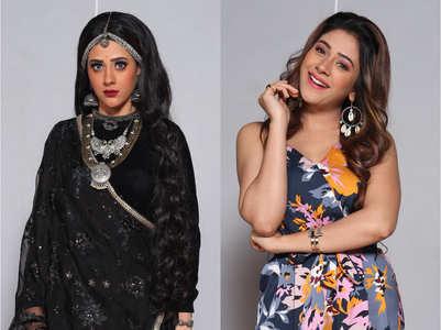 Hiba Nawab on her double role in 'Jijaji...'