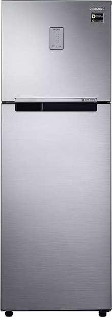 Samsung Double Door 275 Litres 3 Star Refrigerator Black RT30A3743BX
