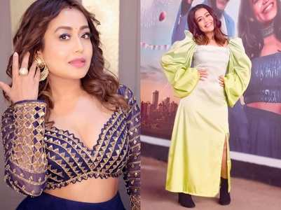 Neha Kakkar's captivating style moments